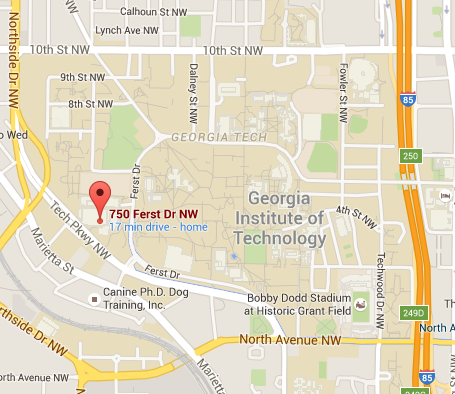 Map Of Georgia Tech Campus.Contact Georgia Tech Campus Recreation