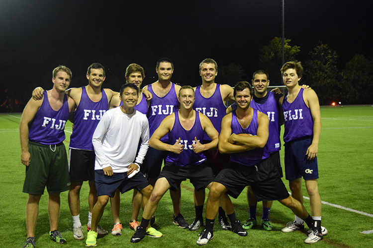 Flag Football School & Fraternity Champion
