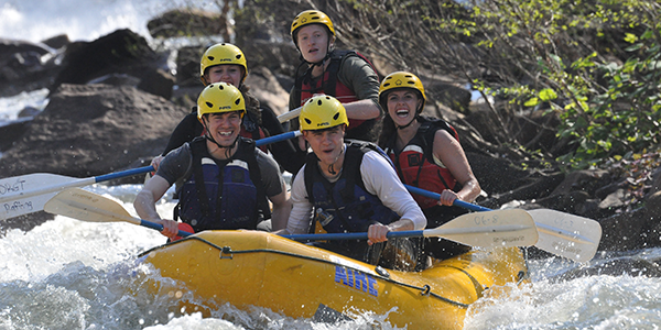 Campus Recreation Programs - Whitewater Rafting